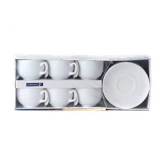 Чайный сервиРESSENSE WHITE 220 мл. 12 педметов на 6 персон купить в Минске